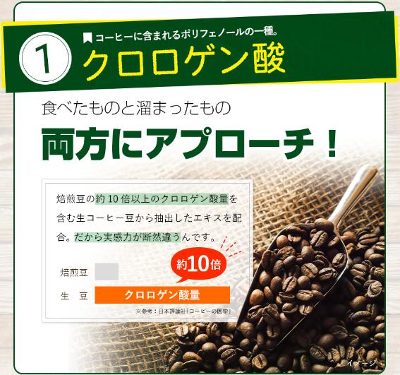 クロロゲン酸 コーヒー